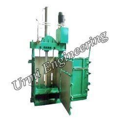 MS Hydraulic Waste Paper Baling Press Machine