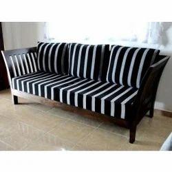 3 Seater Sofa Teak Wood Design Zebra