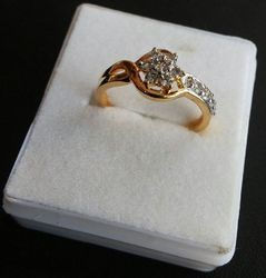 Artificial Gold Ring