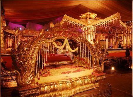 wedding designer mandap set