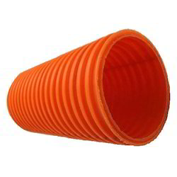 DWC HDPE Pipe for Road Construction