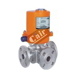 Electric Actuated 3 Way Ball Valve