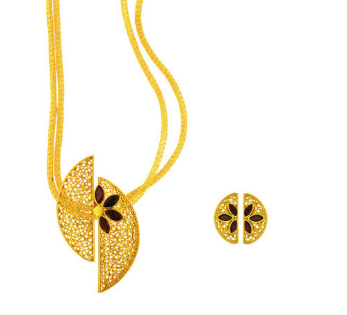 Pendant earring gold gold jewellery joyalukkas india private pendant earring aloadofball Image collections