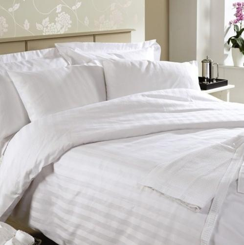 Great Satin Stripe Bed Sheets