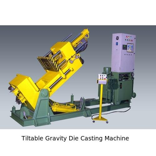 Tiltable Gravity Die Casting Machine