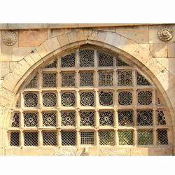 Yellowish Prabhat Sidi Saiyyed Ni Jali, for Decor
