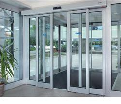Glass Automatic Sliding Door, For Commercial