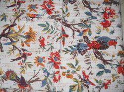 Vintage Sheet Kantha Quilt