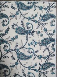 Small Carry Jaal Cotton Fabric
