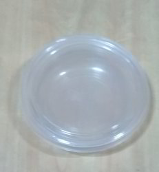 Transparent Plastic Round Containers With Lid 200 ML