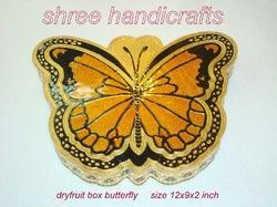 Dry Fruit Box Butterfly Big
