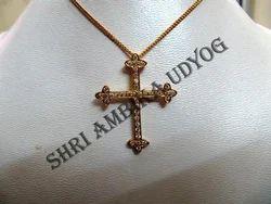 AD Cross Pendant