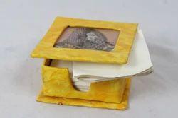 Handmade Paper Gemstone Memo Pad