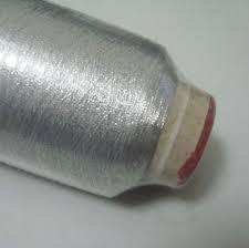 Silver Metallic Yarn For Embroidery Zari Thread