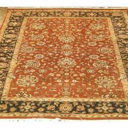 Udai Exports Red and Black Oriental Carpet