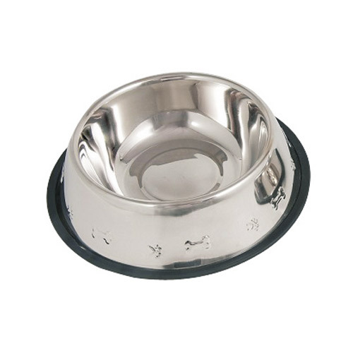 Miinox Stainless Steel Wall Embossed Non-Skid Bowl for Home Purpose