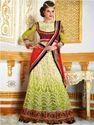 Designer Net Saree Unstitch Lehenga Style