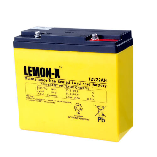 Lemon-X Tricycle Battery, Voltage: 12 V