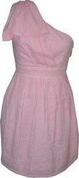 Seersucker Cotton Dress