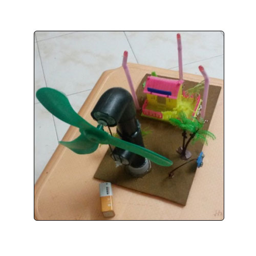 Wind Mill Energy V3 Pulley Based Model For Project