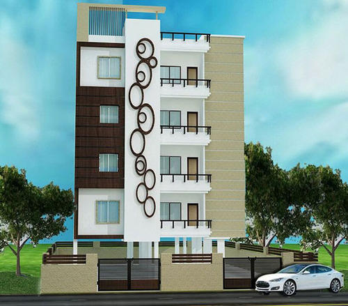 Front Elevation Of Multi Storied Building : Multi storied building champapet project in banjara hills