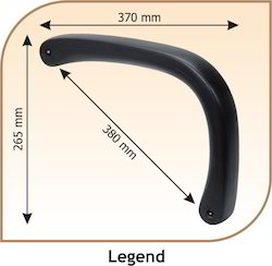 Legend Shaped Chair Handle