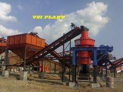 M Sand Crusher Machine