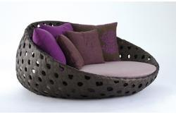 Wicker Round Sofa