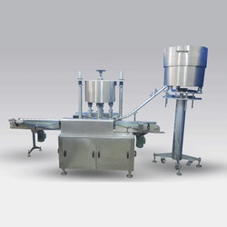 Automatic Four Head Rotary Capping Machine