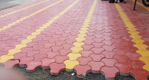 Interlocking Paver Blocks - View Specifications & Details of