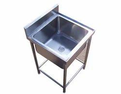Single Sink Washing Table