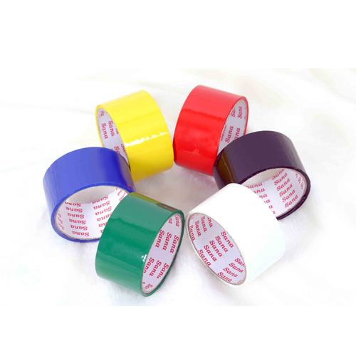 Selmex Hotmelt Colored BOPP Tapes, For Packaging, Packaging Type: Box