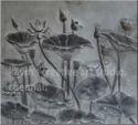 Lotus Stone Mural