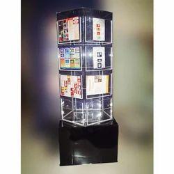 Acrylic Rotating Brochure Stand