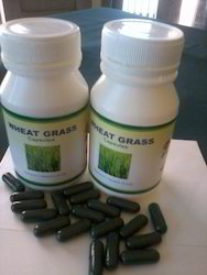 Fiber Food Wheat Grass Capsules