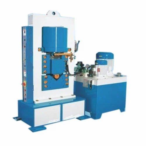 semi automatic hydraulic angle shearing machine rs 150000. Black Bedroom Furniture Sets. Home Design Ideas