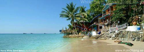 Koh Chang White Sand Beaches क ह च ग व इट