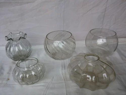 Round Neck Glass Vase Sona Handicraft Manufacturer In Narol