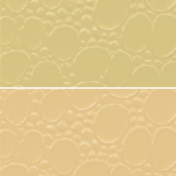 Cream PVC Leather Cloth