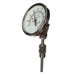 Angle Type Temperature Gauge