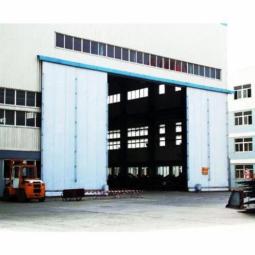 Sliding Doors Amp Gates Industrial Metal Sliding Door Manufacturer From Mumbai