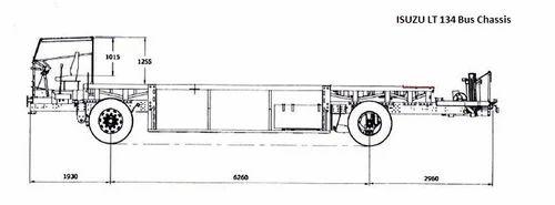 lt 134 bus chassis | sml isuzu limited | retailer in gandhinagar
