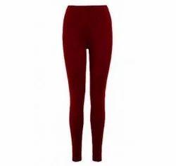 Casual Wear D.S. Fashion Plain Cotton Legging