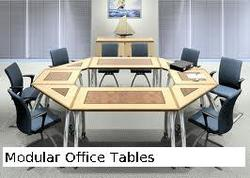 Modular Tables for Offices Manufacturer & Trader from New Delhi