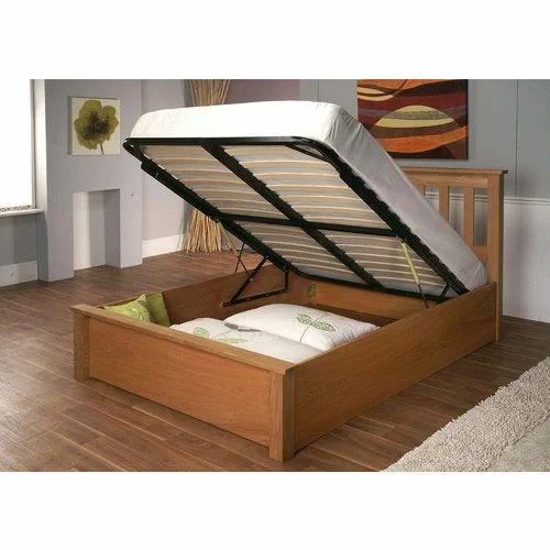 Storage Wooden Bed  sc 1 st  IndiaMART & Storage Wooden Bed Wooden Sofa Wardrobes And Furniture | Vaibhav ...