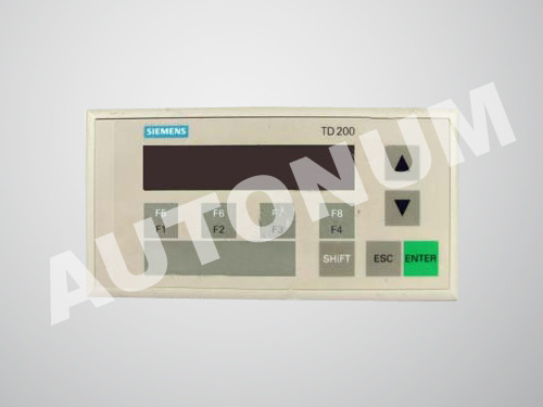 Text display panel siemens automation spares parts autonum text display panel sciox Image collections