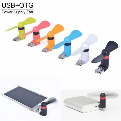 Usb Fan For Mobile Laptop Otg Function