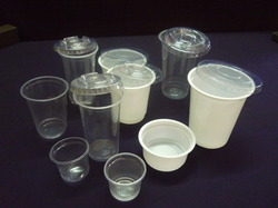 Plastic Disposables Glasses