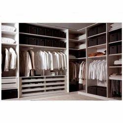 Wood Plastic Composite Wardrobes, Size: 2440 x 1220 mm