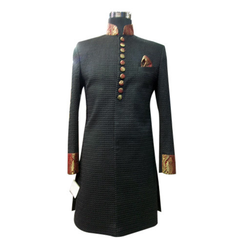 Men Sherwani Party Wedding Western Formal Wear Dress Code In